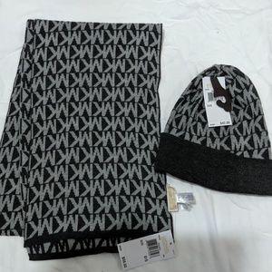 Michael Kors Scarves and Hat Set